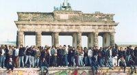 Berlyno sienos griūtis (nuotr. SCANPIX)