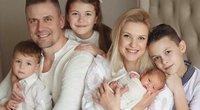 R.Javtokas su šeima (nuotr. Instagram)