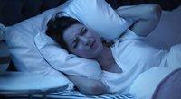Triukšmas miegamajame (nuotr. 123rf.com)
