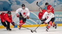 Ledo ritulio rinktinės treneriai prieš turnyrą Lenkijoje turi malonų galvos skausmą (nuotr. hockey.lt)