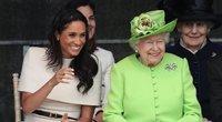 Meghan Markle ir karalienė (nuotr. SCANPIX)