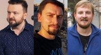 Stanislavas Stavickis-Stano, Vytautas Mikaitis, Paulius Ambrazevičius (tv3.lt fotomontažas)