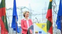 Prezidentas susitiko su EK pirmininke Ursula von der Leyen (Fotodiena/ Viltė Domkutė)