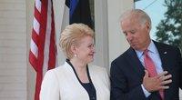 Dalia Grybauskaitė ir Joe Bidenas (nuotr. facebook.com)