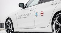 BMW automobiliai medikams (nuotr. Organizatorių)