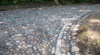 Vienintelis toks Lietuvoje – atnaujintas akmenimis grįstas serpantinas Vilniuje (nuotr. Sauliaus Žiūros)