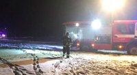 Pragariška naktis Kaišiadorių rajone: liepsnos pasiglemžė žmonių gyvybes (nuotr. stop kadras)