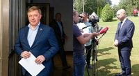 Karbauskis pasakė, kur atostogauja Veryga (tv3.lt fotomontažas)