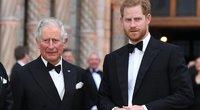 Princas Charles ir princas Harry (nuotr. SCANPIX)