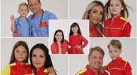 TV pagalbos gelbėtojai parodė savo mažuosius antrininkus (Nuotr. J. Bindokas)