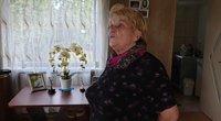 pensininkė Nijolė taupo elektrą (nuotr. Raimundo Maslausko)