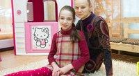 "Ineta Baukienė su dukra Kamile ""Avevitus"" centre  (nuotr. Tv3.lt/Ruslano Kondratjevo)"