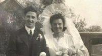 Pora atnaujino įžadus po 75-erių metų (nuotr. asm. archyvo)