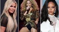 Khloe Kardashian, Beyonce, Rihanna (nuotr. SCANPIX)