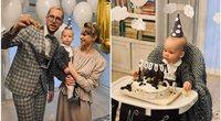 Linas Vaitkevičius su mylimąja atšventė pirmąjį sūnaus gimtadienį (nuotr. asm. archyvo)