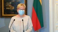 Šimonytė apie sankcijas Baltarusijai: niekas negali būti išbraukta (nuotr. Roberto Dačkaus)