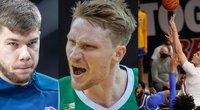 Ant NBA slenksčio esantys lietuviai (nuotr. SCANPIX) tv3.lt fotomontažas