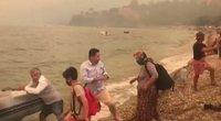 TV3 Žinios. Turkijoje siautėjant didžiuliams gaisrams, dramatiški kadrai – ūkininkas stojo į nelygią kovą su liepsnomis (nuotr. stop kadras)