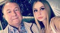 Simona Milinytė su tėčiu (nuotr. facebook.com)