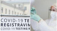 """Neigiamas COVID-19 testas dar neduoda """"žalios šviesos""""? Specialistai aiškina, kodėl tyrimas turi prasmę (tv3.lt fotomontažas)"""