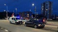 Sunkiai apgirtęs vairuotojas Vilniuje po avarijos užsipuolė merginas (nuotr. TV3)