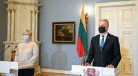 G. Nausėda ir I. Šimonytės (nuotr. Roberto Dačkaus)