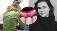 Skaudi žaizdelė burnoje gali išduoti nemalonią ligą (nuotr. 123rf.com)