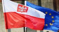 Lenkijos vėliava (nuotr. SCANPIX)