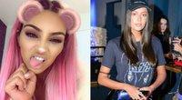 K. Kardashian plaukų įkvėpta K. Mechino parodė naują šukuoseną (tv3.lt fotomontažas)