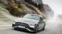 """""""Mercedes-Benz"""" C klasės automobilis (nuotr. Organizatorių)"""