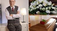 Drukteinis aptarė etiketo taisykles laidotuvėse (tv3.lt fotomontažas)
