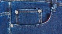 Mažos sagutės ant džinsų  (nuotr. Shutterstock.com)