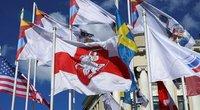 Pakeista Baltarusijos vėliava (nuotr. SCANPIX)