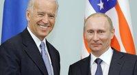 Joe Bidenas ir Vladimiras Putinas (nuotr. SCANPIX)