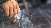 Rūkymas (nuotr. Shutterstock.com)