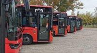 Nauji autobusai (nuotr. Organizatorių)