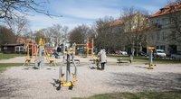 Vaikų žaidimo aikštelė (nuotr. Vilniaus miesto savivaldybės)