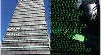 Lietuvos bankai atsidūrė su Kremliumi siejamų programišių taikiklyje (nuotr. SCANPIX)