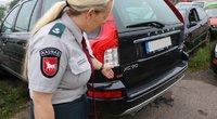 Ne tik baudžiamoji atsakomybė, bet ir automobilio konfiskacija? (nuotr. Policijos)