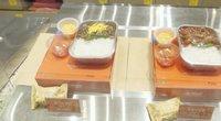 Pietų Korėja siūlo paragauti lėktuvų maisto nepakilus nuo žemės (nuotr. stop kadras)