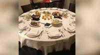 Kūčių stalas (nuotr. stop kadras)