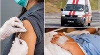 Atsakas į vakcinas – alergija (tv3.lt fotomontažas)