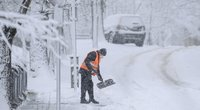 Lietuvą užpustė sniegas (nuotr. Fotodiena/Justinas Auškelis)