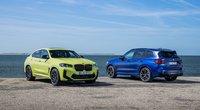 BMW atnaujino populiarius X3 ir X4 modelius (bendrovės nuotr.)