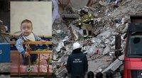 """Iš sprogusio namo nuolaužų ištraukto kūdikio motina: """"Tai – stebuklas"""" (nuotr. SCANPIX) tv3.lt fotomontažas"""
