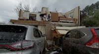 Tornado padariniai (nuotr. stop kadras)