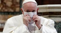 Popiežius pasmerkė vykusius atostogauti: negalvojate apie kitus (nuotr. SCANPIX)