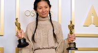 """""""Oskaras"""" už geriausią filmą atiteko """"Klajoklių žemei"""" (nuotr. SCANPIX)"""