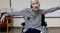 Jaudinantis įrašas: alzheimeriu sirgusi balerina prisiminė šokio choreografiją