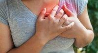 Širdies skausmas (nuotr. 123rf.com)